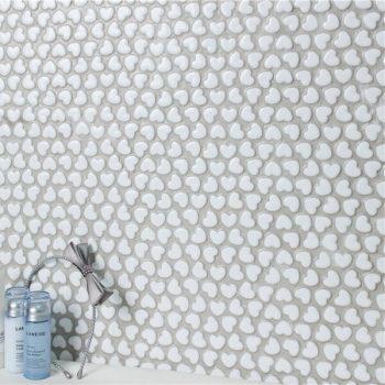 Gạch mosaic gốm Heart Shape RYG203CD